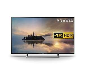 "Sony Bravia KD43XE7093BU 43"" 4K HDR Smart TV (2017 exclusive model) at Amazon for £399"
