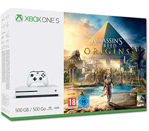 Xbox One S (500GB) w/ Assassins Creed Origins. From Amazon.de for £177
