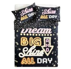 HOME Neon Dreams Bedding Set + Others - Double Free C&C @ Argos for £5.49