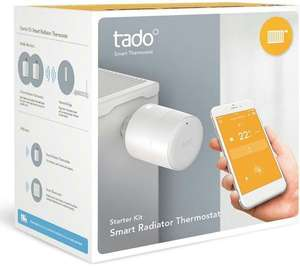 TADO Smart Radiator Thermostat Starter Kit - Horizontal/Vertical at Currys for £139