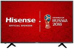 Hisense 43 INCH SMART 4K TV with 6 YEARS WARRANTY