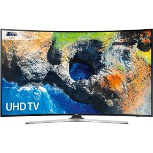 "Samsung UE55MU6220 55"" Smart 4K Ultra HD with HDR Curved TV - Black £539 with code @ AO"