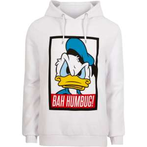 White Donald Duck Christmas hoodie at River Island for £15