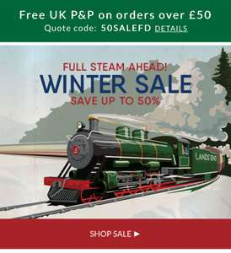 Landsend winter sale up to 50% off