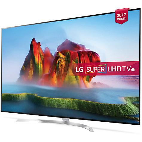 """LG 55SJ850V 55"""" Smart 4K Ultra HD HDR LED TV £799 @ John Lewis"""