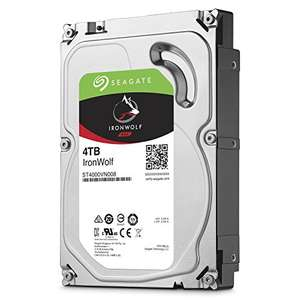 Seagate IronWolf 4 TB for NAS Systems £86.99 @ Amazon Lightning Deal