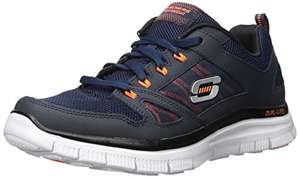 Blue Sketchers Flex Advantage trainers - £27.50