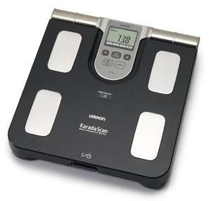 Omron BF508 Body Composition and Body Fat Monitor Bathroom Scale - Black £39.99 @ Amazon