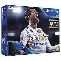 PlayStation 4 Slim 500GB FIFA 18 Console + Hidden Agenda £229 @ Tesco Direct or PlayStation 4 500GB FIFA 18 Console + Extra DualShock 4 Wireless Controller + Hidden Agenda £259