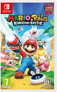 Mario and rabbids kingdom battle for Nintendo switch £32.99 @ amazon