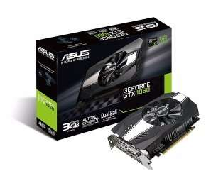 Asus GTX 1060 3GB Phoenix Graphics Card at Ebuyer for £182.99
