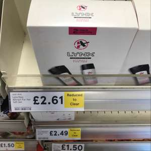 lynx collection £2.61 instore Tesco Express