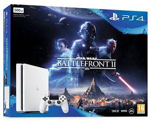 Sony PS4 slim glacier white battlefront II bundle @ Shopto Ebay for £199.99