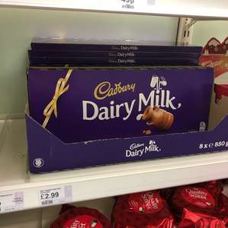 Dairy Milk 850g Big Bar - £2.99 Superdrug instore