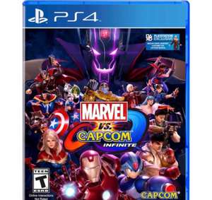 Marvel Vs Capcom Infinite PS4 £15 In-store Tesco