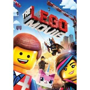 The LEGO Movie DVD (New) - 99p Delivered @ 365Games