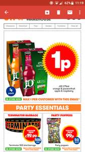 JTF 1p deal, 4 pack of j2O's