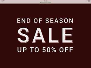 Pretty green sale , says 50% but some 75%