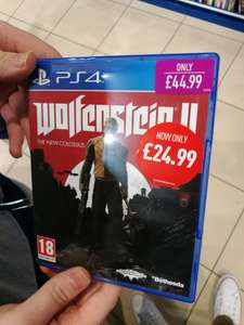 Wolfenstein 2 PS4 @ Game (instore)