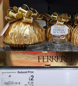 Giant Ferrero Rocher chocolate 125g - £2 instore @ Asda
