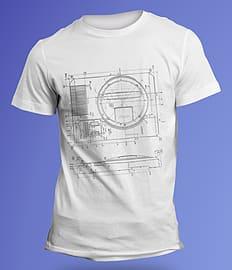SEGA Mega Drive Blueprint T-Shirt (S/XL) £5 Delivered @ GAME