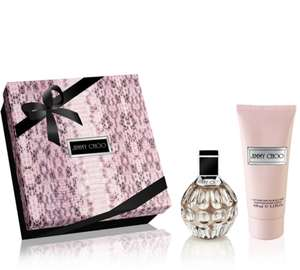 Jimmy Choo Eau De Parfum 60ml & Body Lotion 100ml Gift Set @BeautyBase for only £40 plus free sample