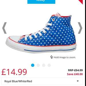 converse all star save £40 - £14.99 / £19.48 delivered @ MandM Direct
