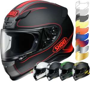 Shoei NXR various colours £269.99 using code (£299.99 before code) @ GhostBikes.com