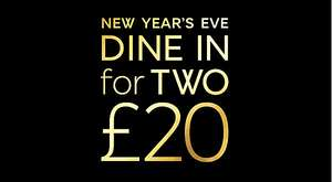 Marks & Spencer M&S Dine in for £20 New year offer with Fizz too!