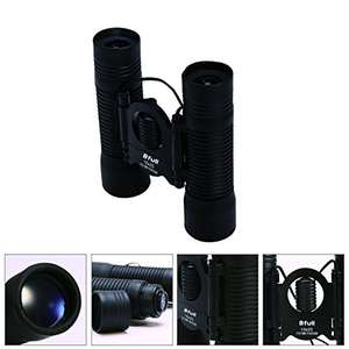 Bfull mini Binoculars compact Folding waterproof 10x25 Telescope for adults Bird watching, Football Safari Sightseeing Climbing £7.99 prime / £11.98 non prime Sold by Ziran and Fulfilled by Amazon