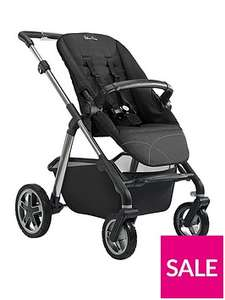 Silver Cross Pioneer Pushchair Chassis, Seat Unit and Carrycot - Graphite £439.99 / £443.98 delivered @ Very