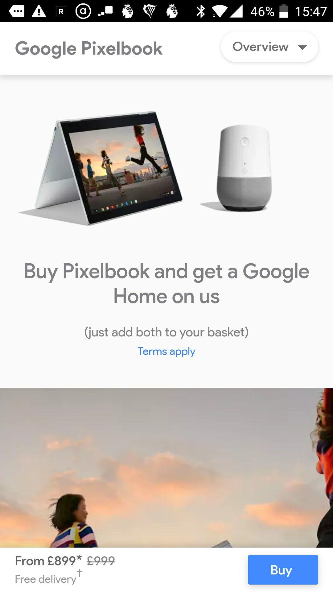 Google Pixelbook £899 @ Google store