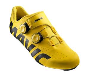 Yellow & Black Mavic Cosmic Pro Road Cycling Shoes (Sizes 9 10 11 12) In Stock £115.24 Delivered Using Code: TRIXMAS10 & 3% Quidco Available! @ Triuk