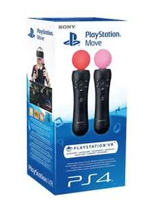 PS4 PSVR Move Controllers £65.48 / £70.27 collect from local shops del @ Scan