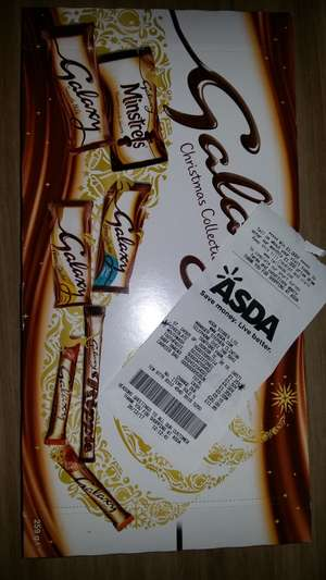Galaxy Christmas Selection 7 Normal Size Chocs £1.25 @ Asda instore