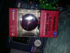 Bluetooth bauble speaker £1 @ B&M