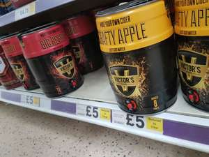 "Large selections of ""brew your own"" beers/ciders £5.00 at Tesco"