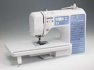 Brother FS100WT Free Motion Embroidery/Sewing and Quilting Machine, White £229 @ Amazon