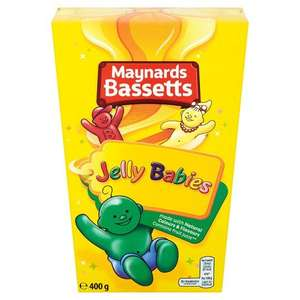 Jelly Babies box 400g - only £1 @ Asda