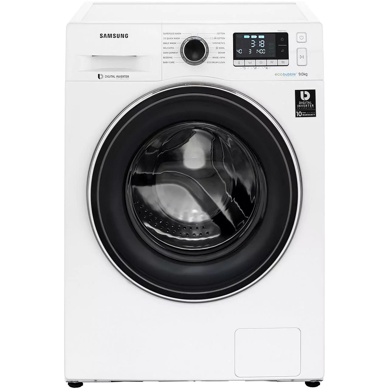 Samsung Ecobubble WW90J5456FW 9Kg Washing Machine with 5 year warranty £359 @ AO