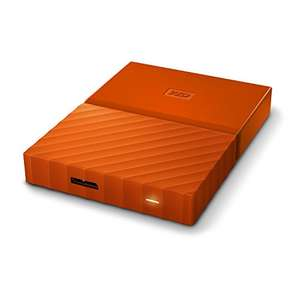 WD 4 TB My Passport Portable Hard Drive - Orange £101.99 - Amazon Lightning deal