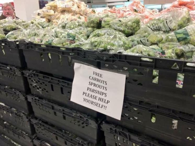 Free Veg at Asda Aintree