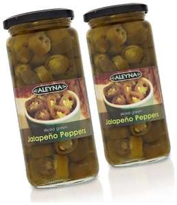 6 large jars of jalapeno peppers for £4.50 from Amazon. Add-on item.