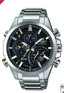Casio Edifice Men's Stainless Steel Bluetooth Smart Watch £143.10 @ H samuel