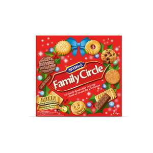 McVities Family Circle Biscuits 670g £1.50 at Sainsbury's