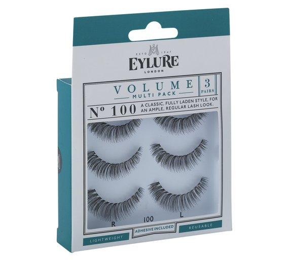 £3.99 only for Eyelashes set 100 Volume - Argos