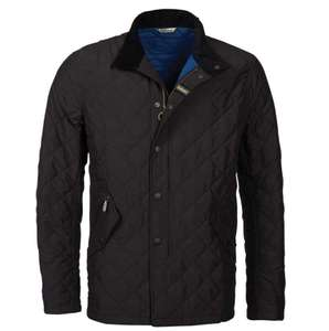 Barbour Mens Shoveler Quilt Jacket - Black £77.40 @Millbry Hill