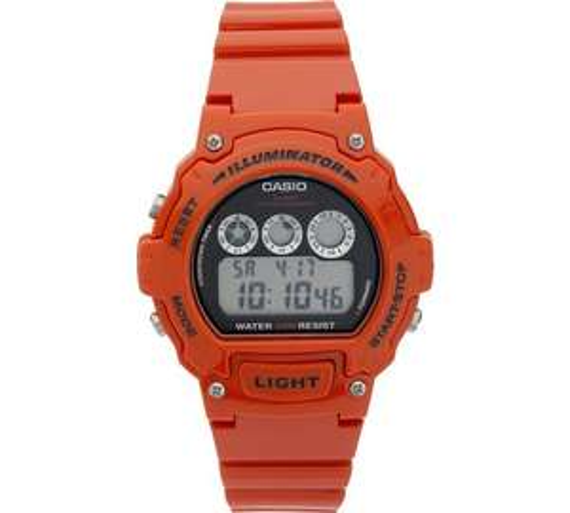 Casio Unisex Red Illuminator Watch