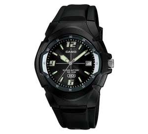 Casio Neo-Brite Black Strap Watch Only £14.99 @argos