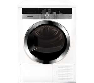 GRUNDIG GTN38250HGCW Heat Pump Tumble Dryer with 5 Year Warranty £429.99 @ Currys